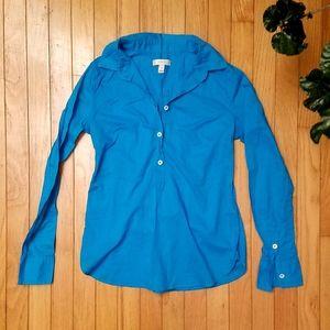 J. CREW Blue Shirt | 4